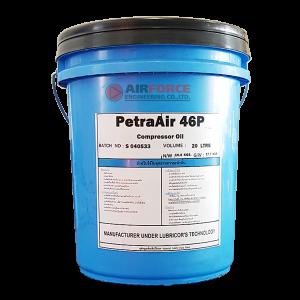 น้ำมันปั๊มลมสกรูชลบุรี PETRA-AIR 46