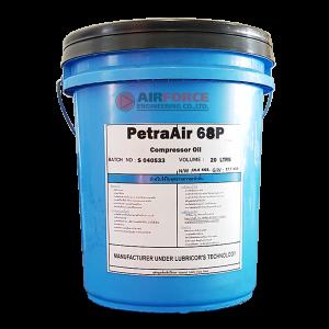 น้ำมันปั๊มลมสกรูชลบุรี PETRA-AIR 68