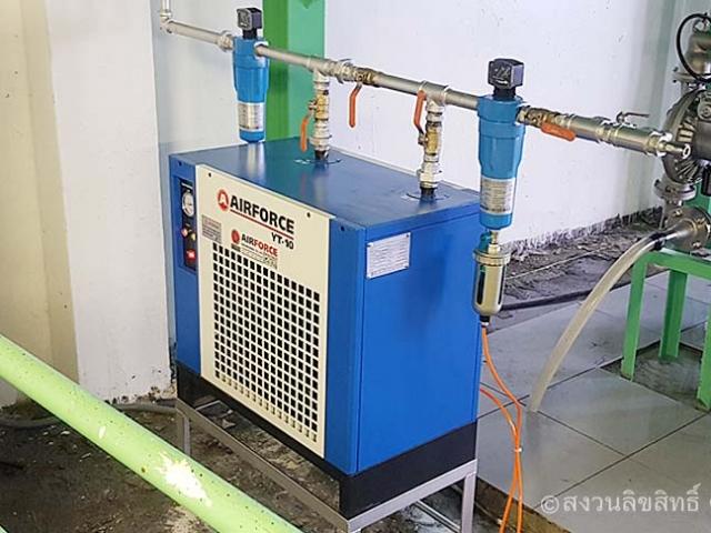 Air Dryer เครื่องทำลมแห้ง ลาดกระบัง   ปั๊มลมสกรูราคาถูก
