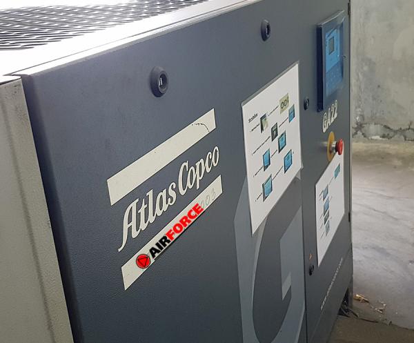 รับซ่อมปั๊มลม Atlas Copco ชลบุรี