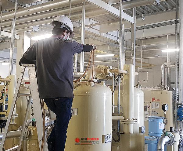 เม็ดสารดูดความชื้น Air Dryer รับเปลี่ยนเม็ดสารแอร์ไดเออร์