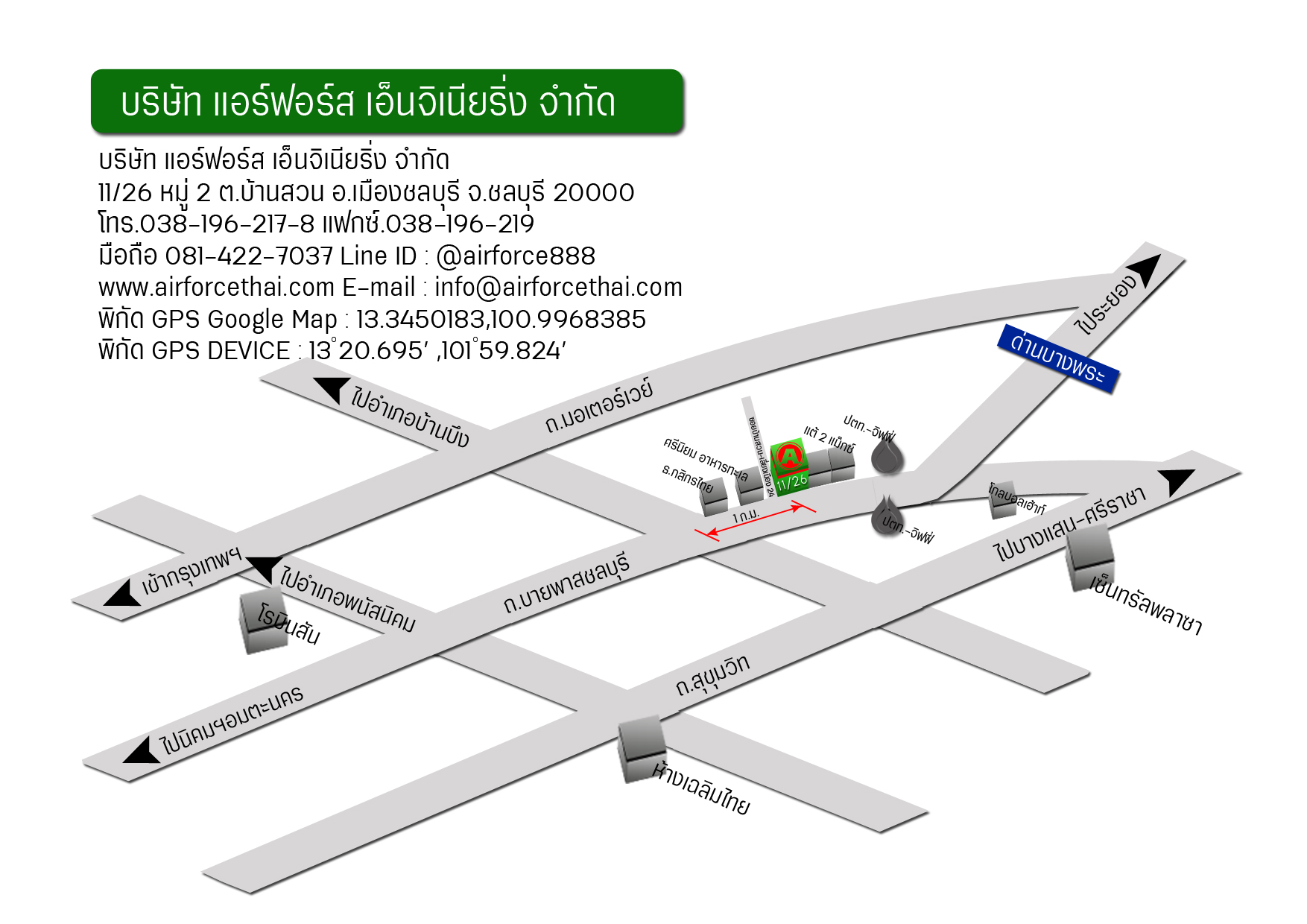 Airforce's Map | airforcethai
